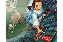 Artwork - Disney / by Gina Grimm
