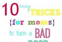 {our three peas} Tips for Moms / Tips for all moms, no matter how old your kids are!