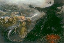Artwork - LOTR/Hobbit / by Gina Grimm