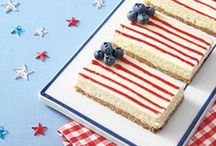 4th of July Dessert Recipes / Recipes devoted to 4th of july! Red white and blue food - 4th of july food - 4th of july desserts / by The First Year