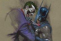 Artwork - Batman & Friends / by Gina Grimm