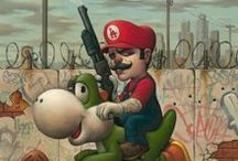 Artwork - Mario & Luigi / by Gina Grimm