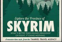 Artwork - Skyrim/Elder/Oblivion / by Gina Grimm