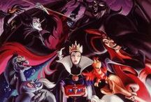 Artwork - Disney Villains / by Gina Grimm