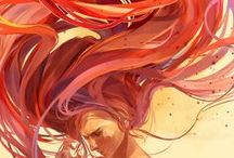 Artwork - Hair / by Gina Grimm