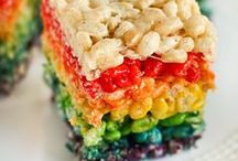 Rainbow Food / Rainbow food - rainbow desserts - healthy rainbow food - eat the rainbow - rainbow smoothie  / by The First Year