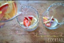 yum - cocktails / boozy beverages, all made by me, racheerachh racheerachheats.blogspot.com