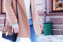 warm clothes. / Winter/autumn fashion