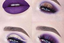 Ultra Violet - makijaż