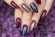 Ultra Violet - manicure