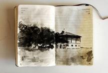 Sketchbooks, Journals, & Drawings / by Jan Dicks