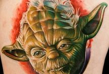 Star Wars tattoos  / by E R