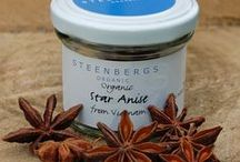 Spice / Spice - season - savour with Steenbergs, the specialist spice merchants from North Yorkshire. Specialise in organic and Fairtrade spices.