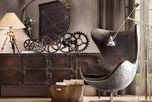 INTERIORS I Steampunk decorating / Ideas for my new project
