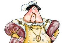 Henry VIII / First images from our forthcoming free Henry VIII app coming soon...check out twitter @muddybootsmedia in September for details on how to download it.