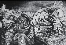 Art | Otto Dix / Otto Dix was a German artist who served twice on the front lines in World War One