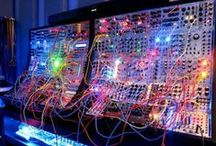 Synthesizers n' Audio gear / Synthesizers, Audio gear, Modulars