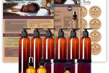 Bath & Body / It's time to detox your bath and body products! Create your own customized bath and body care products using carrier oils and essential oils specific for your skin and hair!  There are 12 bath and body recipes blends on the back of the tear sheet and ready to be customized for your skin and hair!