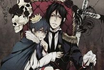 Black Butler (Kuroshitsuji) / SEBBY!  SEBBY, WHERE ARE YOU?!  I'm here... For the past 7 decades...  YOU THINK YOU'RE SO GREAT  I never said that, although I do always think that...  THAT'S IT! NO MORE SOULS AND CATS FOR YOU  But-!  NO BUTS, NOW GO HIDE IN YOUR CORNER AND REPENT...
