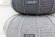 *Crochet & knitting for the * / Accessoires voor thuis haken