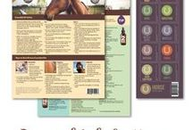 Horse / If you love your horse as much as you love your essential oils, this board is for you! With recipes developed with Janet Roark, DVM, this kit for your horse makes it easy to whip up 10 spray blends using just a few simple ingredients along with beneficial essential oils!