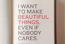 Inspiration & things we like!