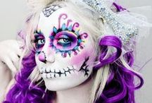 Face Paints / Theatrical make-up, face paintings and basic scarring.