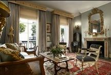 Devas Designs: Belgravia Town House / This townhouse was designed and decorated for a collector.  The elegant rooms with their subtle colours provide the perfect backdrop for a magnificent collection of paintings, drawings and works of art.