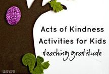 Kindness and Empathy / Strategies, activities, ideas and quotes for teaching kindness and empathy in early childhood settings
