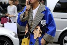 Street styles / Fashionista street styles from New York, Paris, London, Milan, Stockholm, Los Angeles, and so on...