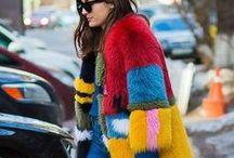 Colorful style / Fun bold pastel colors