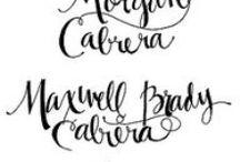 Typography / Scripture we love!