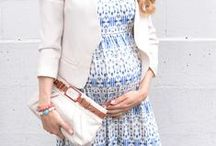 Mama's got style! / Style inspirations for the mother-to-be! #maternitystyle