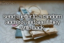 TDBID / To Do Before I Die My Bucket list :)
