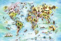 Mapy w pokoju dziecka | Maps in the Room