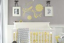 Szary pokój niemowlaka | Grey Nursery