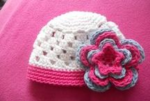 Crochet/knit baby hats