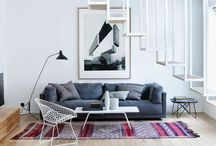 Interiors / This is my style - the interiors I dream of, the look I try to capture: Mid-century modern, scandinavian - nordic - norwegian, neutral, eclectic, vintage, retro.