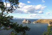 """Irkutsk & Lake Baikal / Irkutsk is one of the oldest cities in Siberia, pre-dating the great """"opening-up"""" of Siberia (by Tsarist decree) in the C18th… settlers and homesteaders around Lake Baikal had been well established a century earlier.   Although Irkutsk has attractions of its own, the principle reason people come – of course – is to see Lake Baikal."""