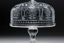 divine domes for cheese and cakes / A collection of unusual, colourful and antique domes for cheese and cakes
