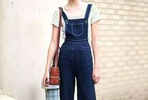 ✘ JUMPSUITS, ROMPERS & DUNGAREES INSPIRATION
