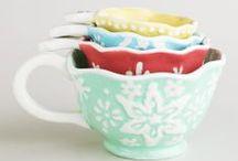 measuring cups, spoons, jugs / Beautiful ways of measuring food and drink