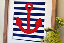 Juju Baby's bedroom / Nautical theme