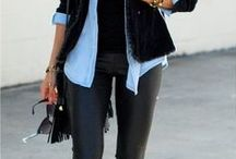 Outfits with Black Pants, Jeans & Leggings / Fashion Outfits with Black Leggings and Black Pants