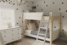 Monochrome Kids Rooms / High Contrast, Monochromatic Room Design and Toys for Kids.
