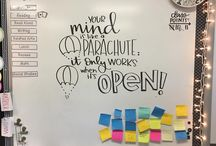Whiteboard Inspiration / Whiteboards Messages that Inspire Our Students!
