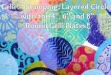 Gelli Arts® VIDEOS - Tutorials / All videos on this board were created by Joan Bess for Gelli Arts™ and can be viewed on our youtube channel https://www.youtube.com/user/GelliArts / by Gelli Arts®