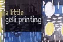 Gelli® Printing Plate Video Tutorials by Customers! / These videos are all created by enthusiastic artists who love to use and teach with the Gelli Arts printing plates! We are blessed to have such enthusiastic customers and teachers who love to use the Gelli printing plate!