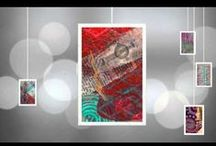 Gelli VIDEOS - Eye Candy! / Enjoy videos full of beautiful Gelli prints created by Joan Bess. Full tutorials for creating prints like these are available on her Gelli Arts blog... http://gelliarts.blogspot.com/