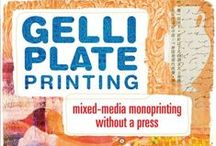 Art Books we Love! / Great books and techniques we think compliment our Gelli Art printing plates!
